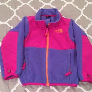 North Face Fleece Denali, Purple/Pink, Toddler 2T